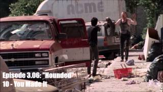 The Walking Dead - Season 3 OST - 3.06 - 10: You Made It