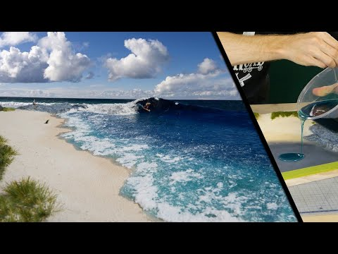 How to Build a Hyper-Realistic Surf Diorama - Realistic Scenery Vol.17
