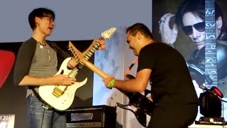 Patrick Souza realiza sonho de tocar com Steve Vai / Entrevista