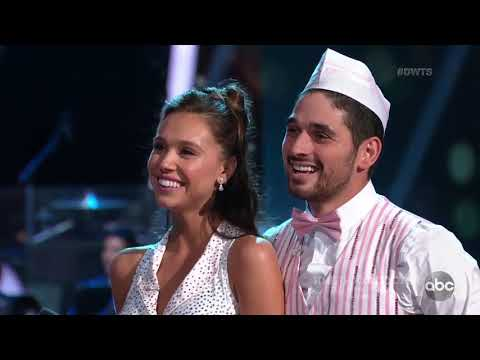 HD Alexis and Alan Dancing With The Stars Premiere | Week 1 - Jive (видео)