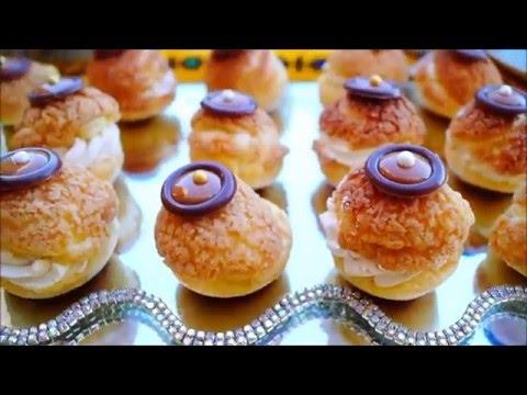 فيديو شو بالكخاكلان Choux au Craquelin
