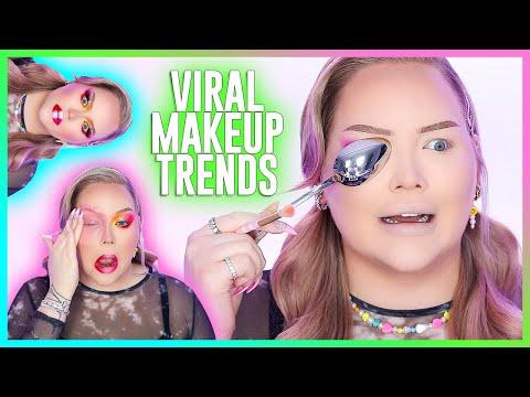 Full Face Of VIRAL TikTok Makeup Trends Part 2! | NikkieTutorials