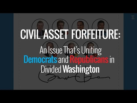 Video: Video: Democrats and Republicans Join Forces to Stop Civil Forfeiture Abuse