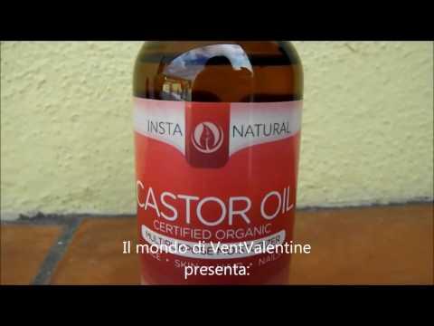 Olio di Ricino - Certificato Organico, Adatto a Capelli, Viso, Pelle & Unghie InstaNatural