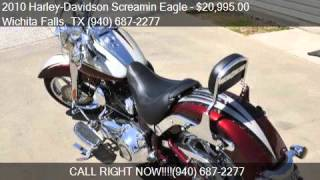 9. 2010 Harley-Davidson Screamin Eagle FLSTSE CVO Softail Conve