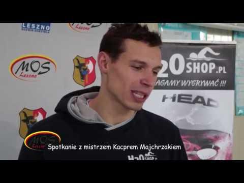 Spotkanie z mistrzem Kacprem Majchrzakiem, styczeń 2018