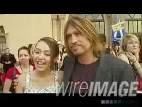 miley cyrus interview on americian music awards red carpet