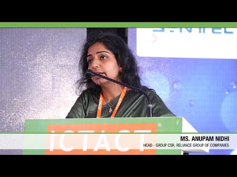 Anupam Nidhi   Reliance Group of Companies   ICTACT Convergence 2015