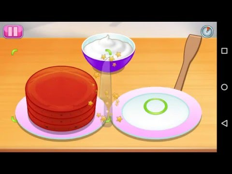 Sara's Cooking Class: How To Play Red Velvet Cake Game -Cooking Games