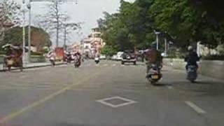 Quanzhou China  City pictures : Street Scene, Driving in Quanzhou, China