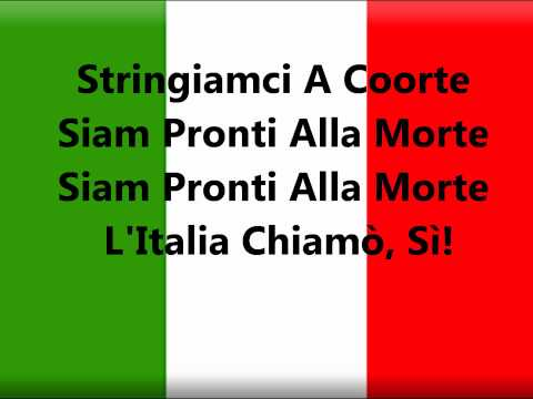 National song - Il Canto degli Italiani (The Song of the Italians) is the Italian national anthem. It is best known among Italians as Inno di Mameli (Mameli's Hymn), after t...