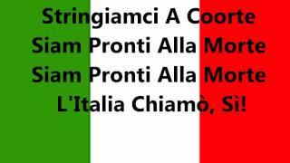 HINO NACIONAL DA ITALIA - Orquestra e côro - Oficial