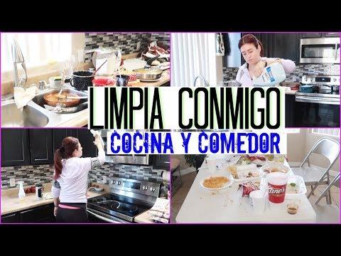 Videos caseros - LIMPIA CONMIGO MI COCINA Y COMEDOR SIEMPREMIREYA