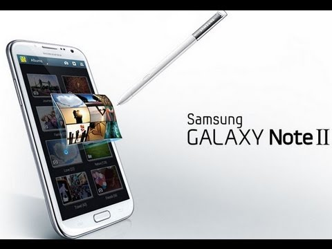Samsung Galaxy Note II 2 Unboxing