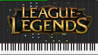 Worlds Collide - League of Legends (World Championship 2015) [Piano Tutorial]
