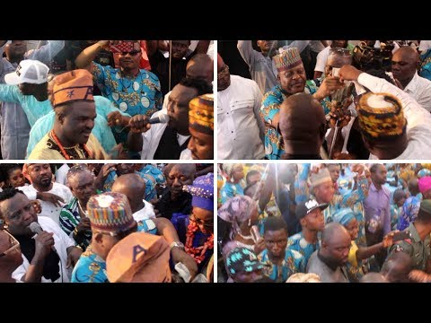 OSUPA  PERFORMANCE FOR AGBA AKIN BOBAGUNWA OF YORUBA LAND ALH.ABASS AKANDE OBESERE