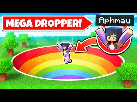 My Top Secret MEGA DROPPER In Minecraft!