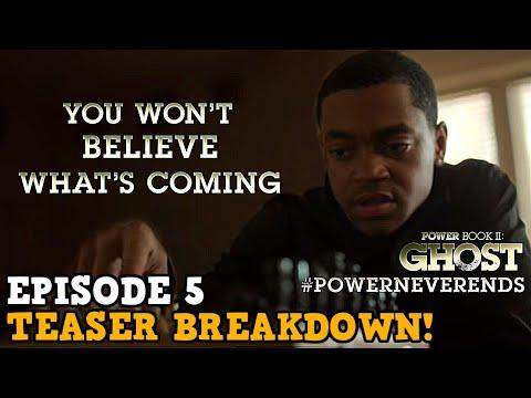 Power Book II: Ghost 1x05 'EPISODE 5 PROMO BREAKDOWN' Tariq's Chess Board Explained