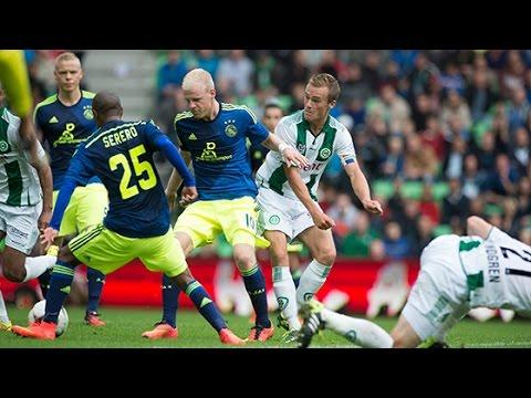 fc - Een samenvatting van de uitwedstrijd tegen FC Groningen die Ajax met 2-0 verloor.