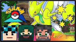 SHINY SCIZOR EVOLUTION + MORE!! | Pokémon Trinity | Minecraft #41