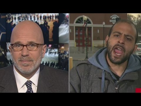 This is Bassem Masri's interview with CNN. He's the guy who was live streaming at Ferguson tonight and had his phone snatched. If you didn't figure already from his stream, this guy is your classic asshole!