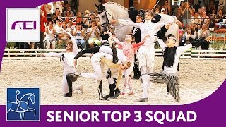 Top 3 Squad (Senior) | World Championships Vaulting 2016 | Le Mans