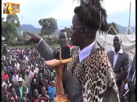 West Pokot senator, Prof. John Lonyangapuo, vows to support amendments to elections law
