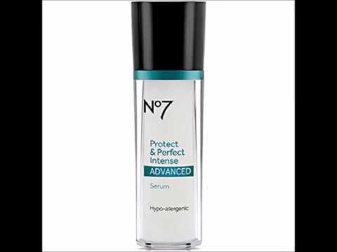Boots No7 Protect & Perfect Intense Advanced Anti Aging Serum Bottle   1 oz