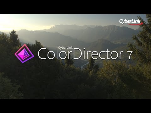 Professional Color Grading Software | Cyberlink ColorDirector 7