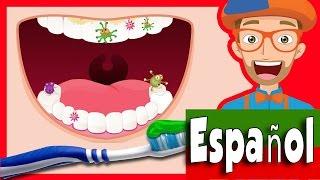 Canción cepilla tus dientes por Blippi | 2-Minutos Cepilla tus dientes para niños
