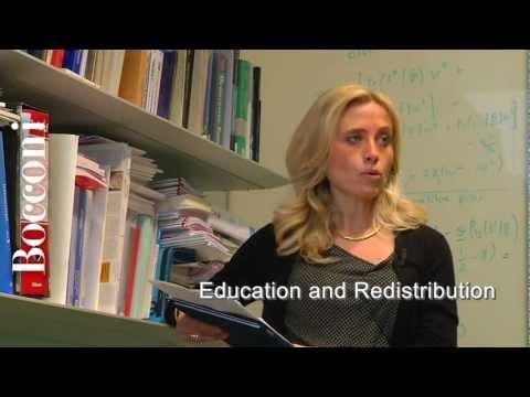 Bildung und Umverteilung, wenn Talente nicht übereinstimmen. Bocconi Knowledge.