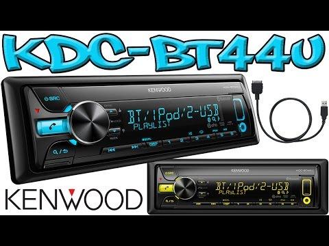 KENWOOD KDC-BT44U Bluetooth/iPod/dual USB/CD-Receiver