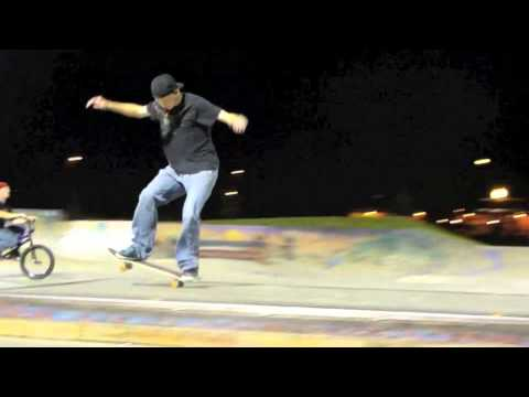 DAVENPORT SKATE PARK BREAK BOARD MONTAGE PART 1