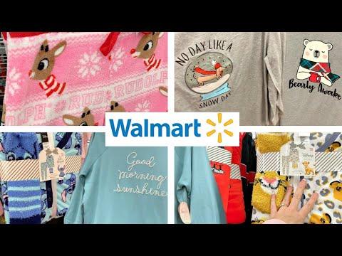 WALMART SHOPPING!!!🎄CHRISTMAS PAJAMA GIFT SETS, SLEEPWEAR, LOUNGEWEAR + PLUS SIZE CLOTHING!!!