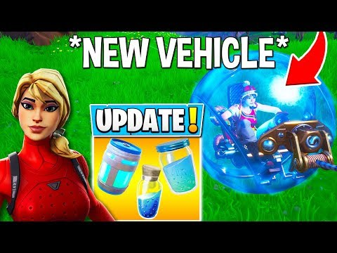 "*NEW* FORTNITE UPDATE! ""BALLER"" VEHICLE, HEALING ANIMATIONS + SKIN STYLES! (Fortnite Moments)"