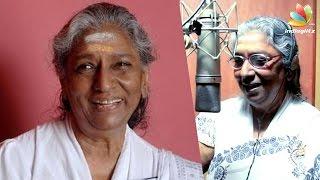 Singer Janaki Announces Retirement From Music Kollywood News 24/09/2016 Tamil Cinema Online