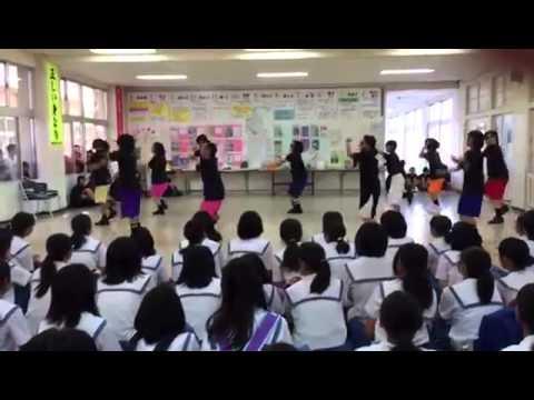 豊見城中学校 レッスンゴレライ ラップver.