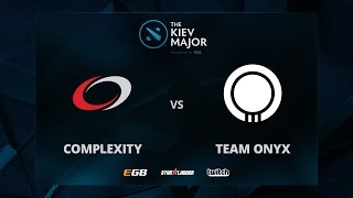 compLexity vs Team Onyx, Game 1, The Kiev Major NA Main Qualifiers Play-off