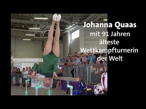 91-jährige Turnerin Johanna Quaas bricht alle Rekorde