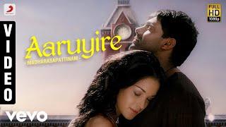 Video Madharasapattinam - Aaruyire Video   Aarya, Amy Jackson MP3, 3GP, MP4, WEBM, AVI, FLV Juli 2018