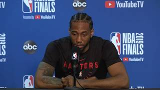 Kawhi Leonard Gave Some Words Of Advice To Kevin Durant On Achilles Recovery Process | NBA Finals