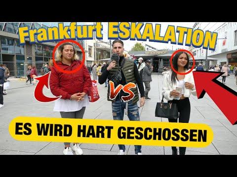 FRANKFURT ESKALIERT 😱!! WIE FINDET IHR...?
