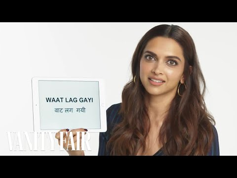 Deepika Padukone Explains Hindi Slang