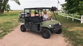 2. 2009 Polaris Ranger Crew 4x4 Utility Vehicle