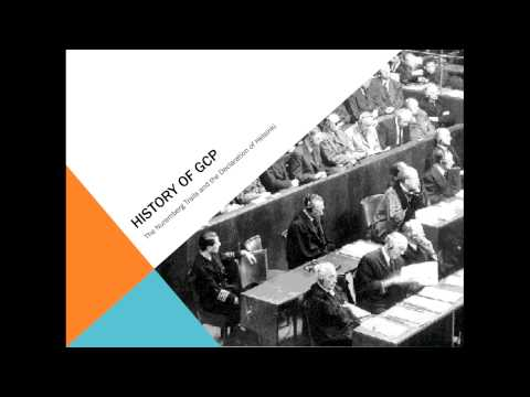 Introduction, History and Principles of ICH- GCP