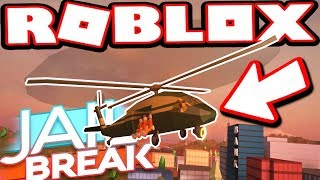 NEW *EXCLUSIVE* MILITARY CHOPPER!!! (Roblox Jailbreak)