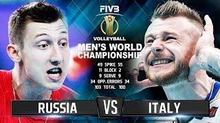 Video Russia vs. Italy | Highlights | Mens World Championship 2018 MP3, 3GP, MP4, WEBM, AVI, FLV Februari 2019