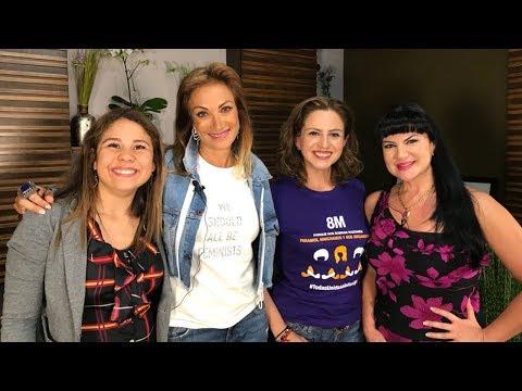 #SagaLive en el Día Internacional de la Mujer con la senadora Martha Tagle, Alejandra Ávalos y Nisal