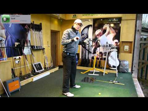 Golf Backswing Lesson Turn Into Your Right Side