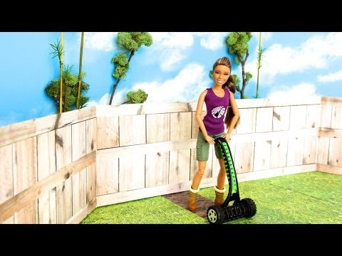 How to Make a Doll Reel Push Lawn Mower